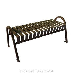 Witt Industries M4-BBC-BN Bench Outdoor