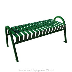 Witt Industries M4-BBC-GN Bench Outdoor