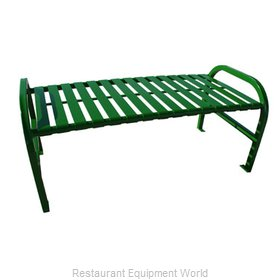 Witt Industries M4-BBS-GN Bench Outdoor