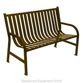 Witt Industries M4-BCH-BN Bench Outdoor