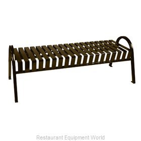 Witt Industries M5-BBC-BN Bench Outdoor