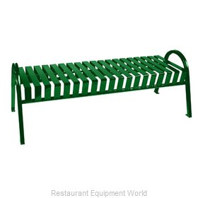 Witt Industries M5-BBC-GN Bench Outdoor