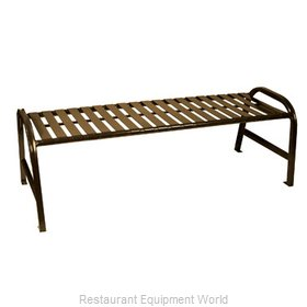 Witt Industries M5-BBS-BN Bench Outdoor