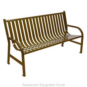 Witt Industries M5-BCH-BN Bench Outdoor