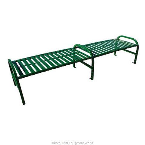 Witt Industries M8-BBS-ARM-GN Bench Outdoor | Benches and Frames