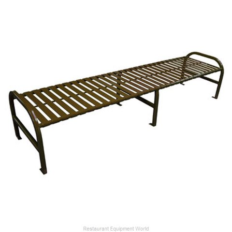 Witt Industries M8-BBS-BN Bench Outdoor | Benches and Frames