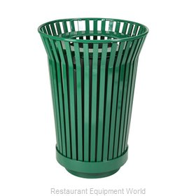 Witt Industries RC2410-FT-GN Waste Receptacle Outdoor