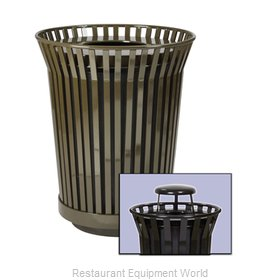 Witt Industries RC3610-RC-BN Waste Receptacle Outdoor