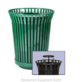 Witt Industries RC3610-RC-GN Waste Receptacle Outdoor