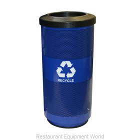 Witt Industries SC20-01-RP-BL Waste Receptacle Recycle