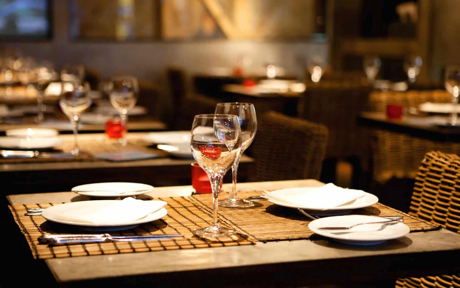 Restaurant Dining Room Tabletop
